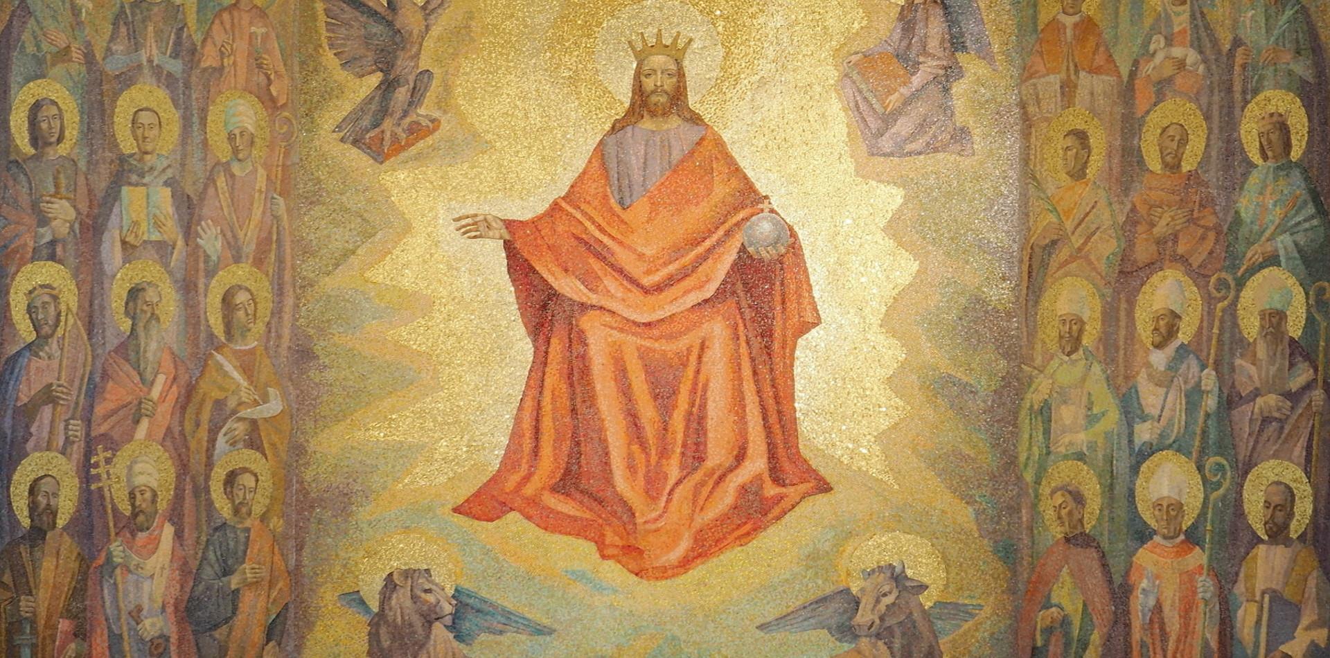Mosaico Cristo Re Cremona